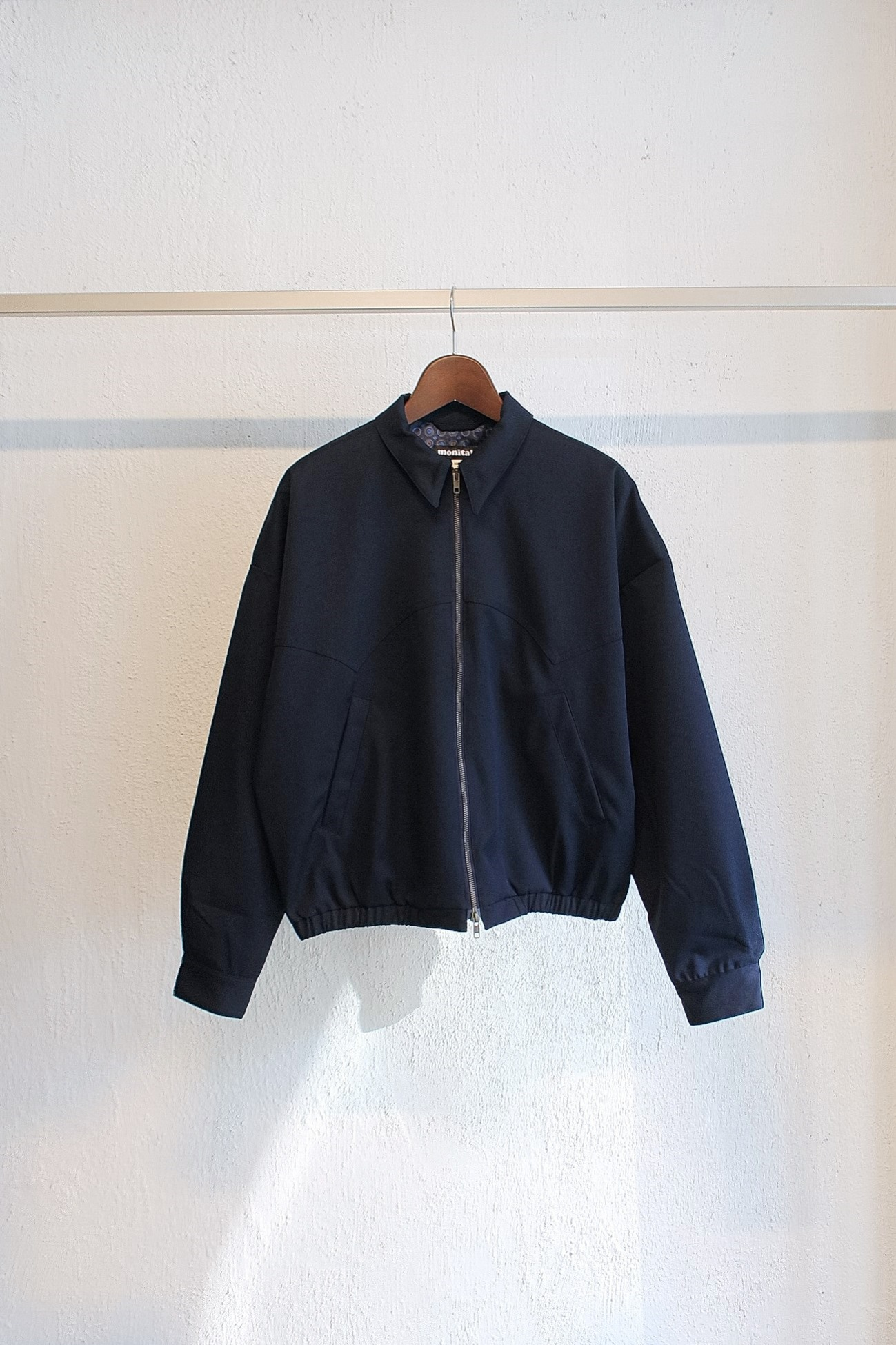 [Monitaly] Western Drizzler Jacket - Nova Stretch Navy