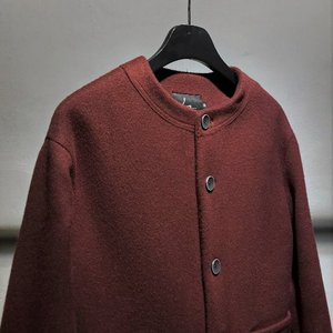 Cardigan Half Coat (Cherry)