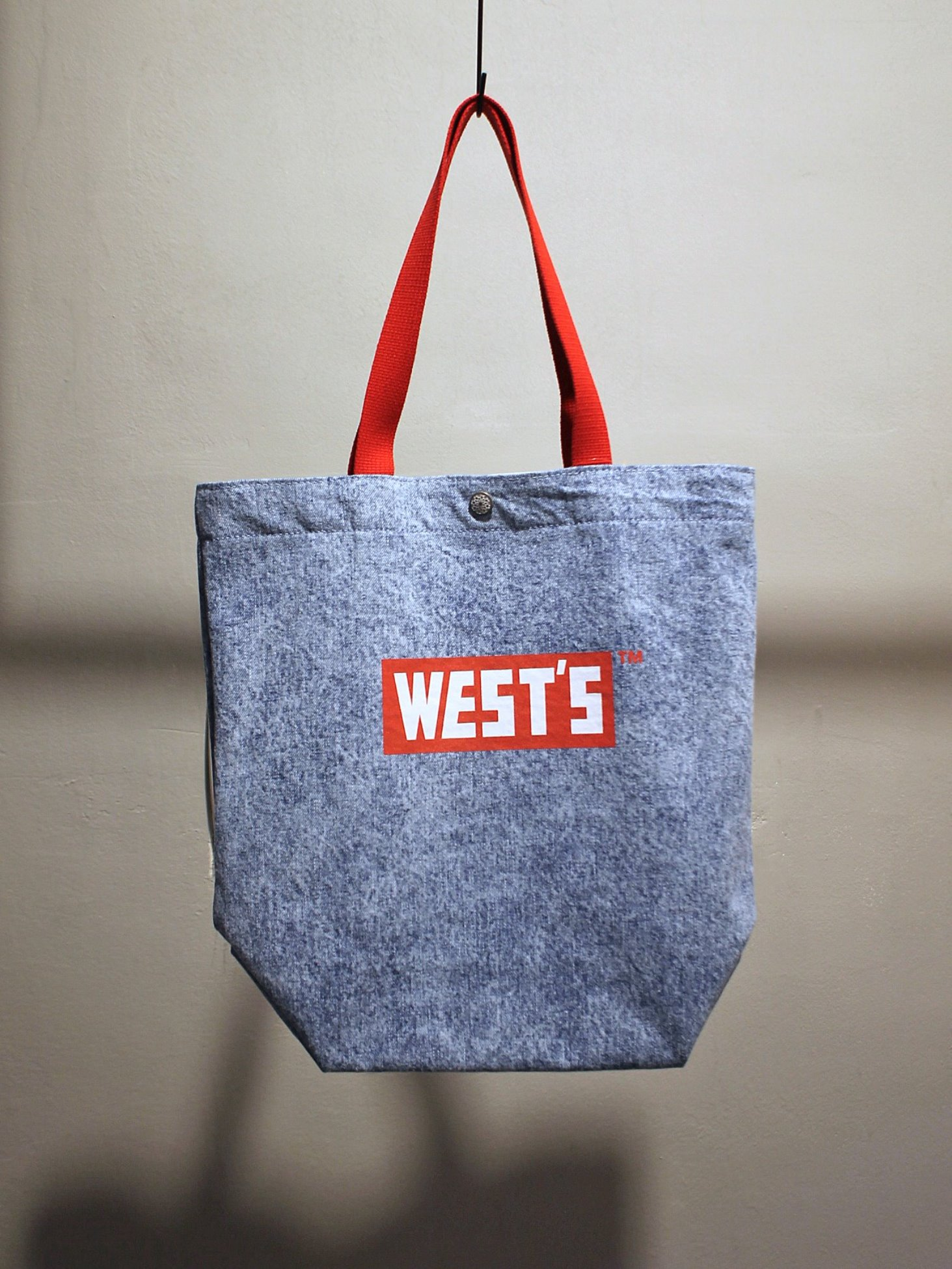 [WESTOVERALLS] West's Tote Bag (C.Blue)