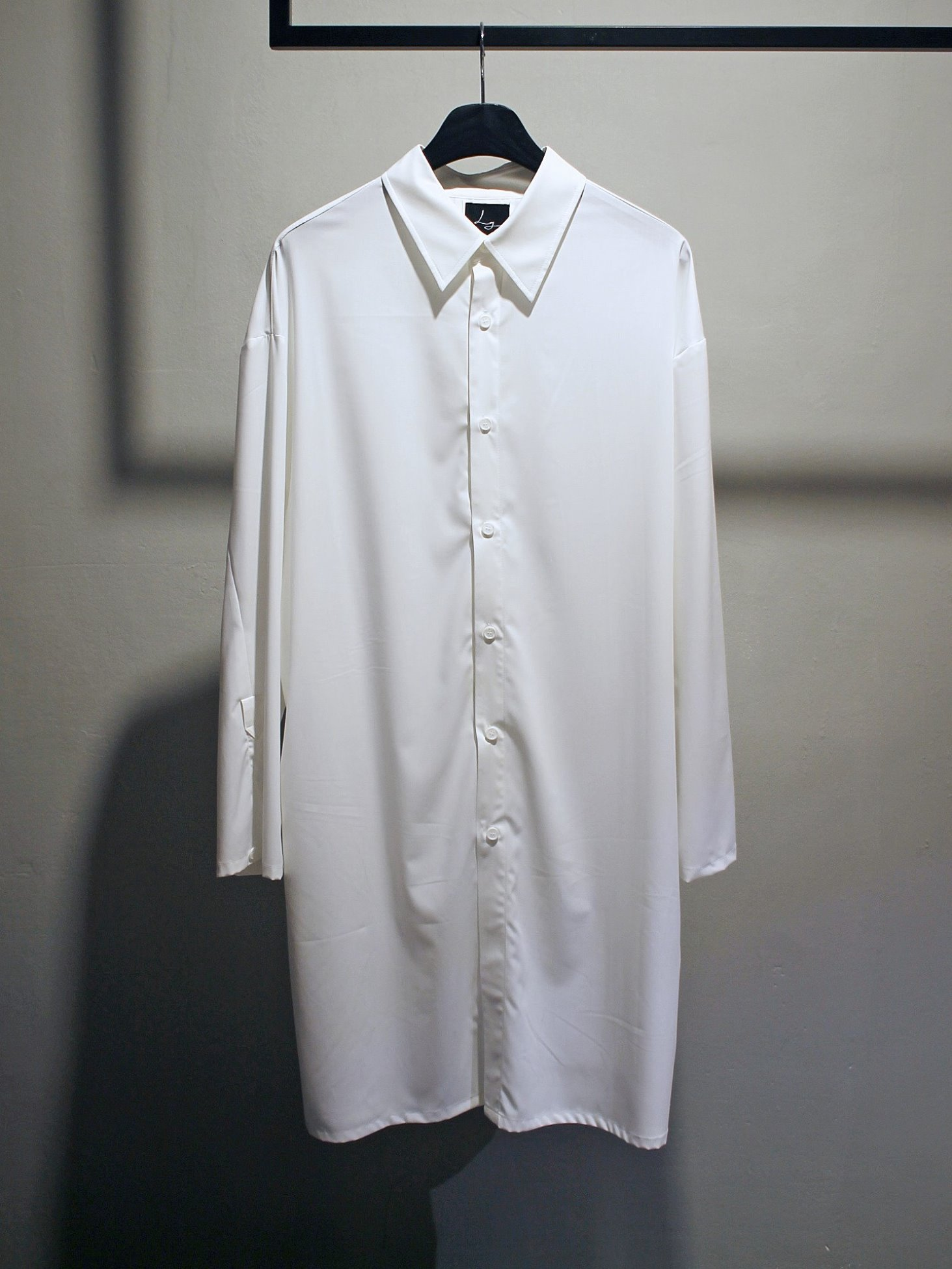 [Log] Long Tunic Shirt - White
