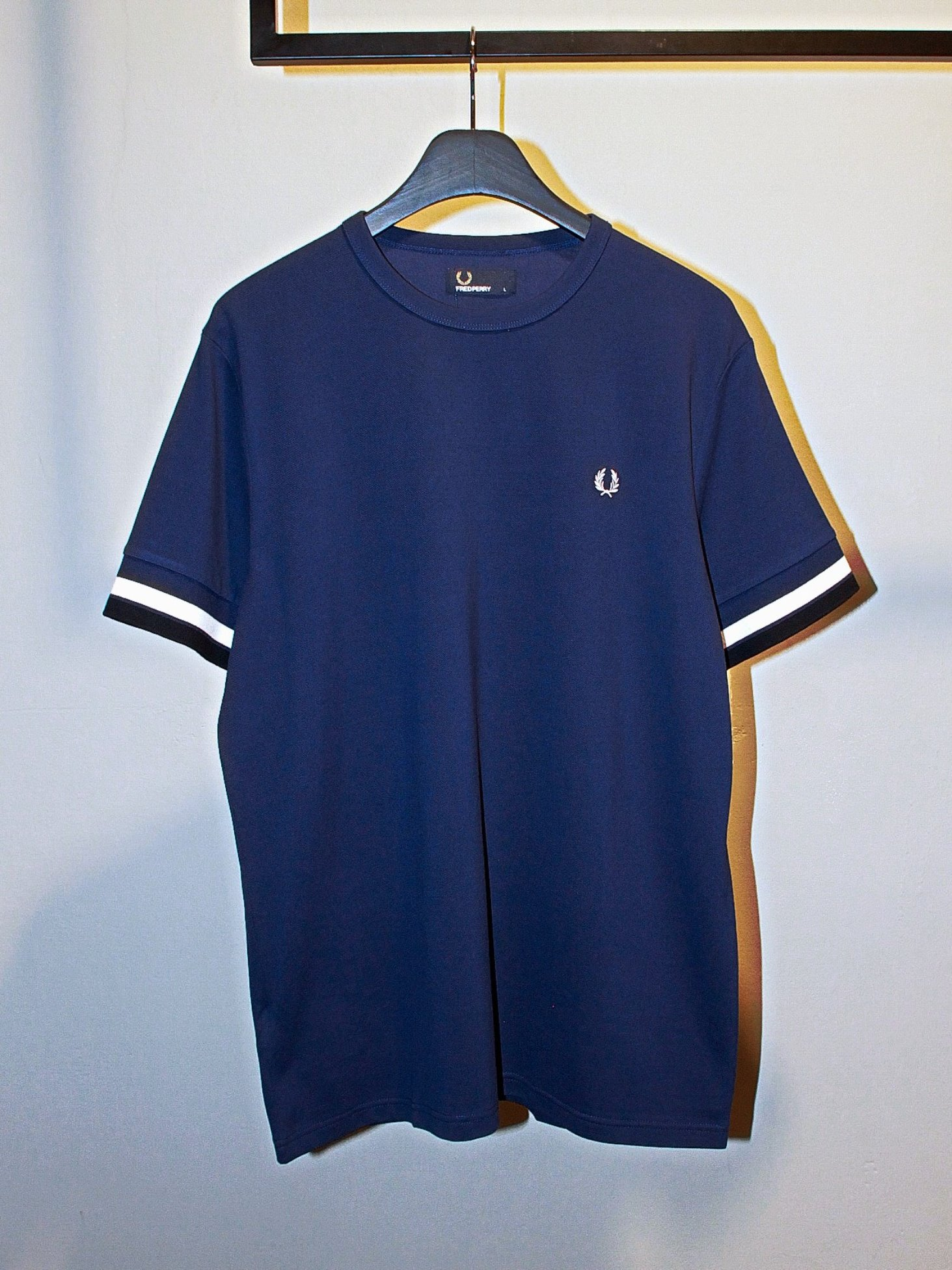[Fred Perry] Bold Tipped T-Shirt - French Navy