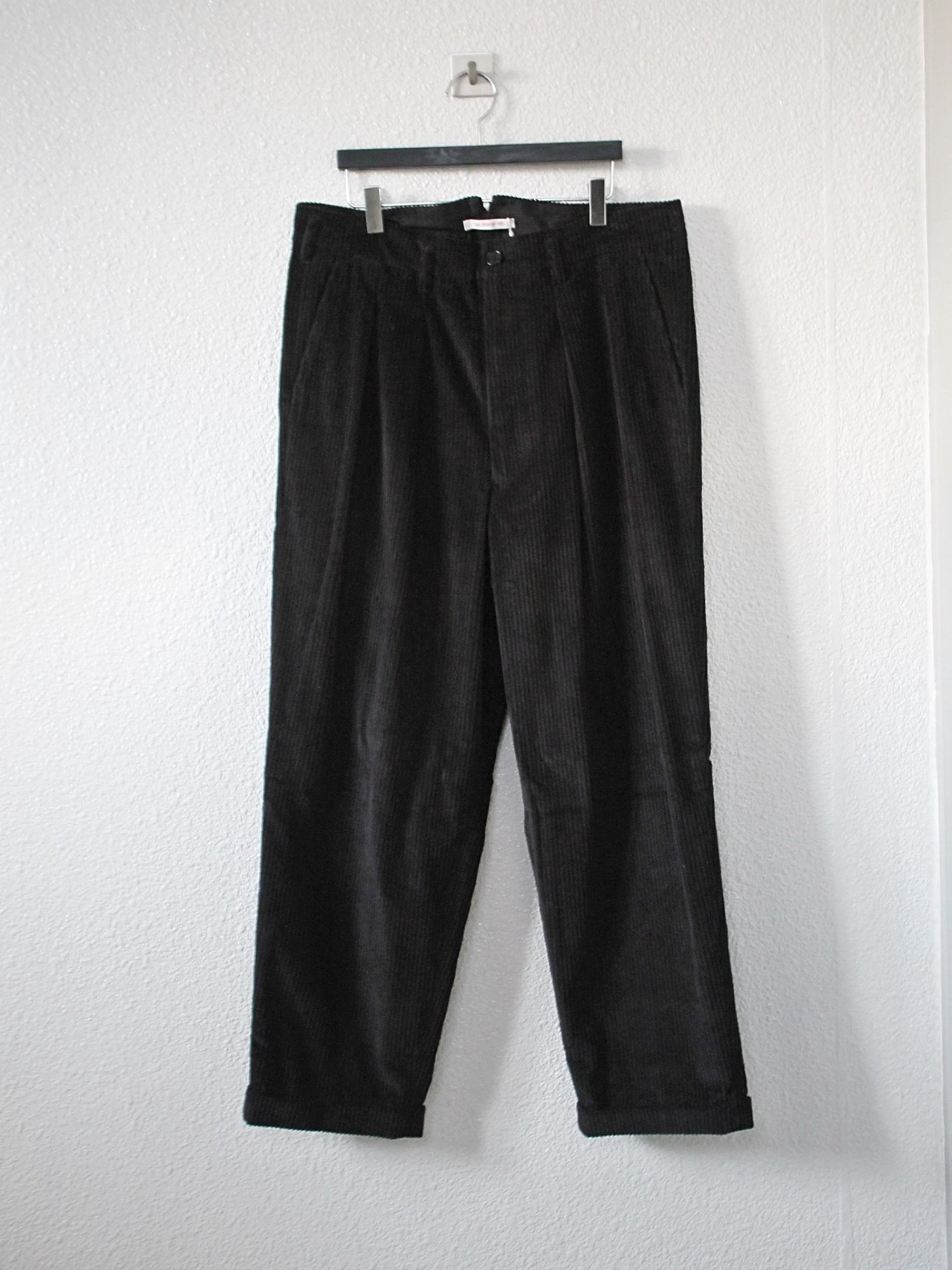 [s.k. manor hill] Charlie Pants - Black Corduroy