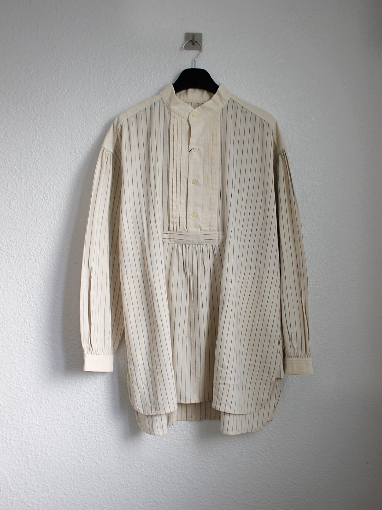 [Norbit] Field Dress Shirt - White Stripe