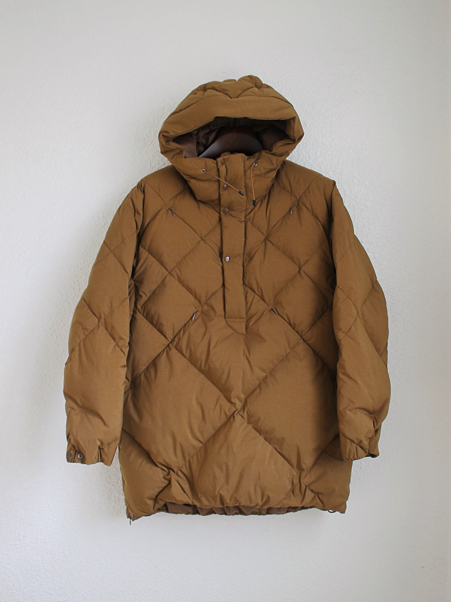 [Norbit] Bush Anorak (Down) - Brown