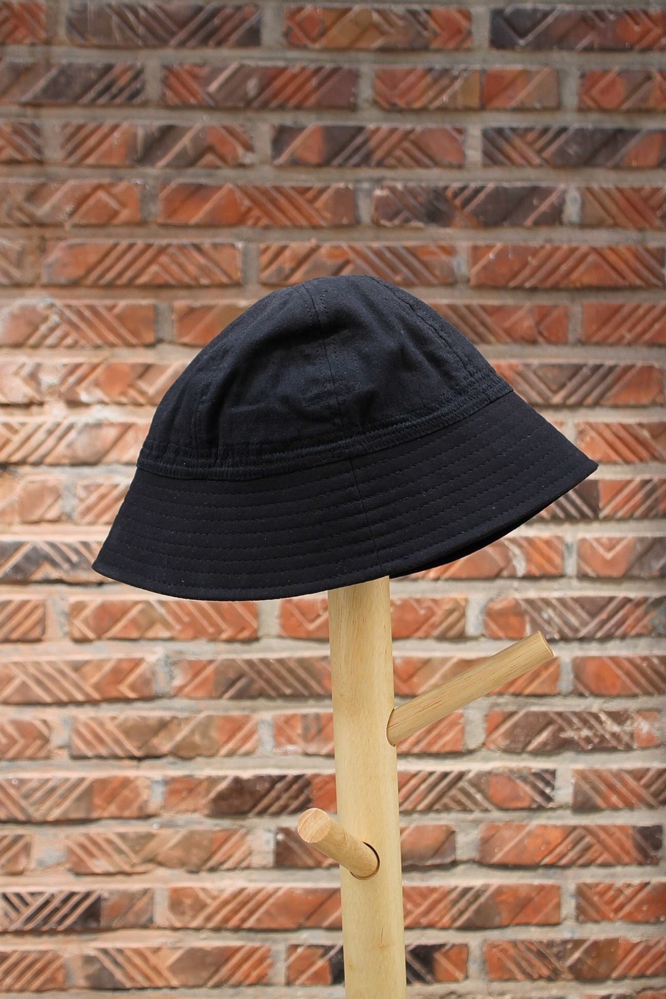 [EASY TO WEAR] Linen Canvas Hat - Black