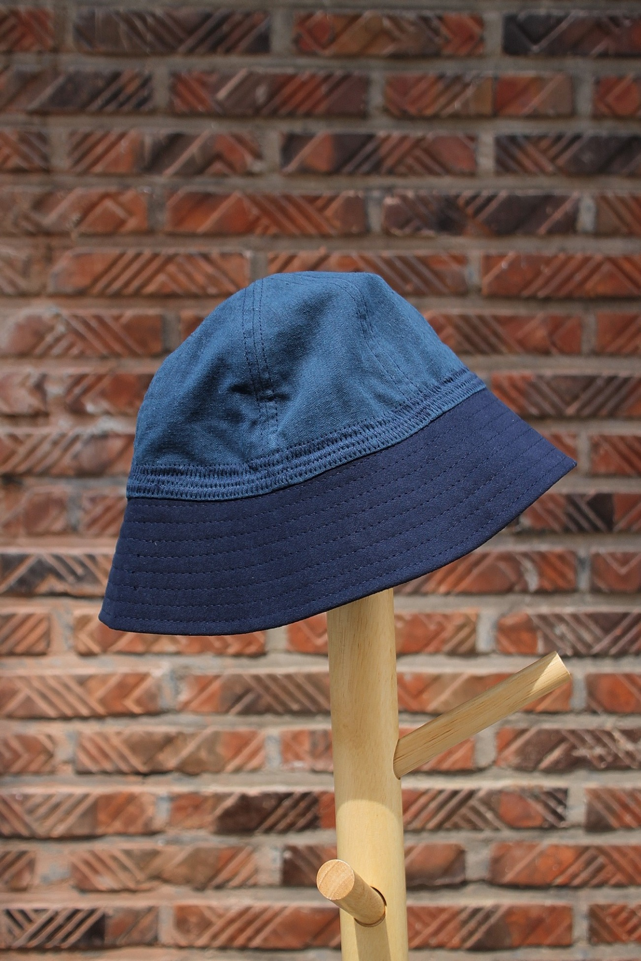 [EASY TO WEAR] Linen Canvas Hat - Oriental Blue