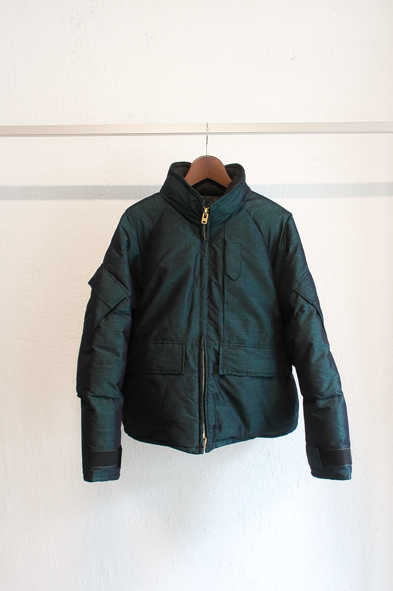 [CLAMP] EXWCS Down Jacket - Green